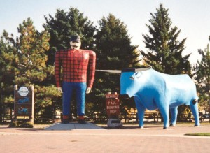 Paul Bunyan, as you are asked to remember him.