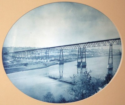 Smith Avenue Bridge, St. Paul, 1891.