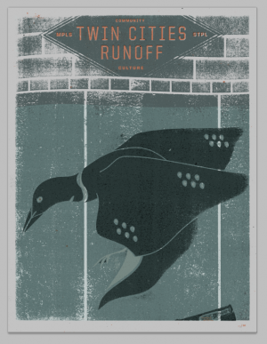 Twin Cities Runoff's limited edition, 4-color screenprint poster shows our affinity for the avian underworld. Designed by Steady Print Shop, this print can be yours with a $40 donation to support Twin Cities Runoff's daily content in 2012.